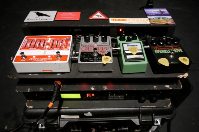 Pedals : Rack