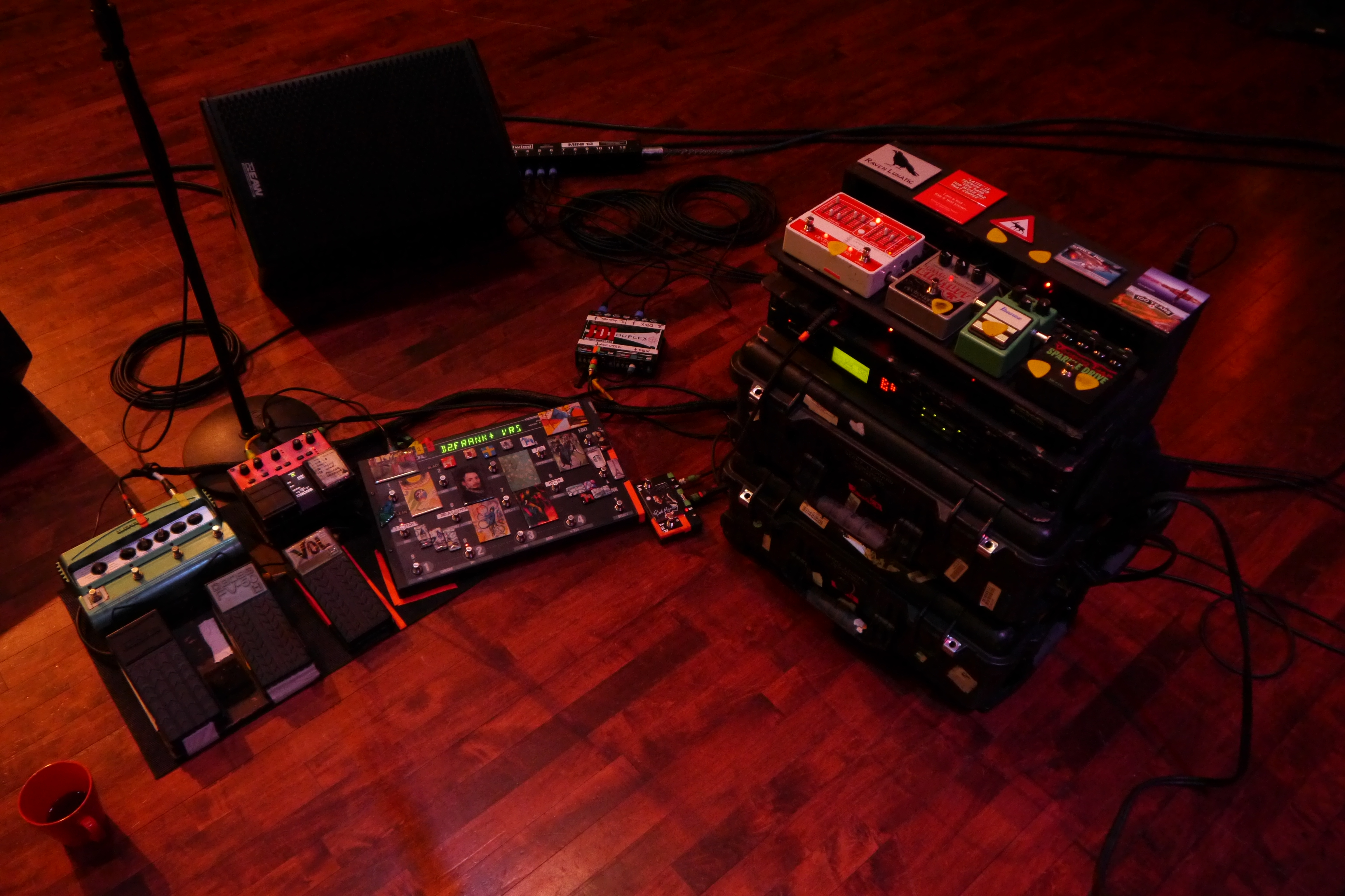 Spooky Ghost Guitar Rig For The Suzanne Vega Tour G E R